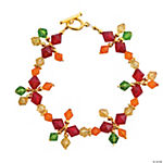 Autumn Crystal Beaded Bracelet Kit