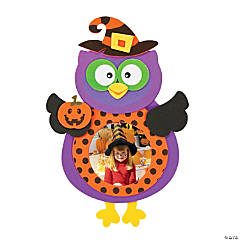Witch Owl Picture Frame Magnet Craft Kit