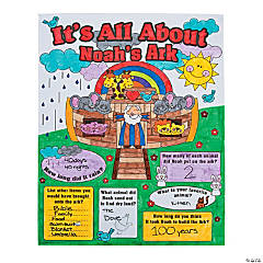 "Color Your Own ""All About Noah's Ark"" Poster"