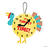 """Turkey Time"" Paper Plate Craft Kit"