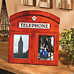 Telephone Phone Booth Photo Frame
