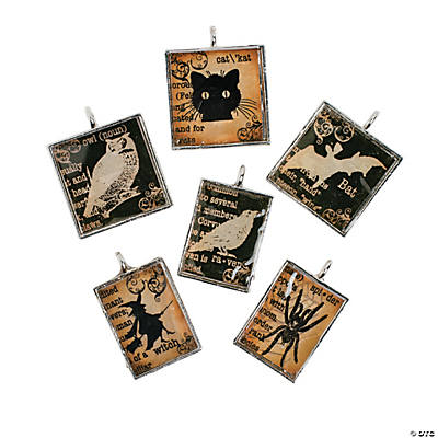 Black & White Halloween Charms