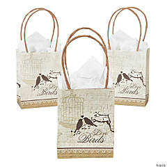 Love Birds Small Gift Bags