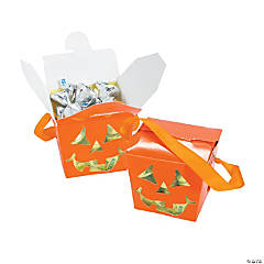 Jack-O-Lantern Take Out Boxes