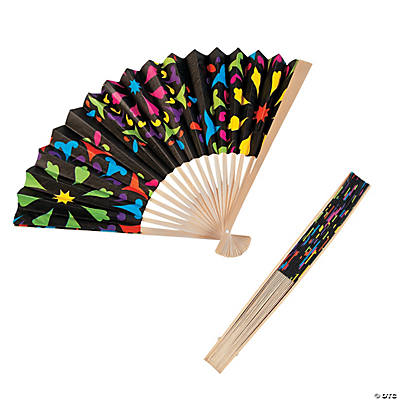 Day of the Dead Folding Fans