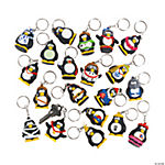 Vinyl Penguin Key Chain Collectibles