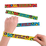 50 Days of School Slap Bracelets