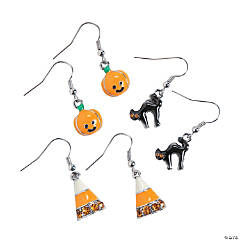 Halloween Earrings Set