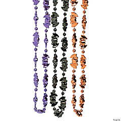 Bat Beaded Necklaces