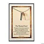 Mustard Seed Necklaces with Card