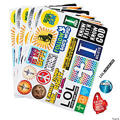 Teen Spirit Stickers