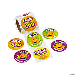 Christian Pumpkin Stickers