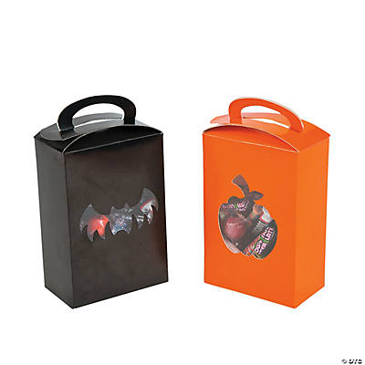 Halloween Boxes with Cutout