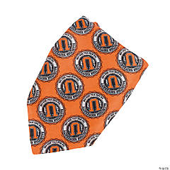 Religious Team Spirit Orange Bandanas