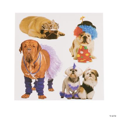 Dogs in Costume Sticker Treat Packs