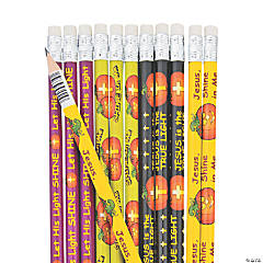 Christian Pumpkin Pencils