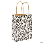 Black & White Kraft Bags