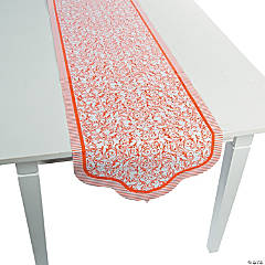 Orange Wedding Table Runner