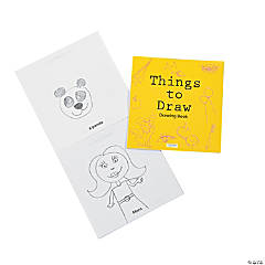 """Things To Draw"" Drawing Books"