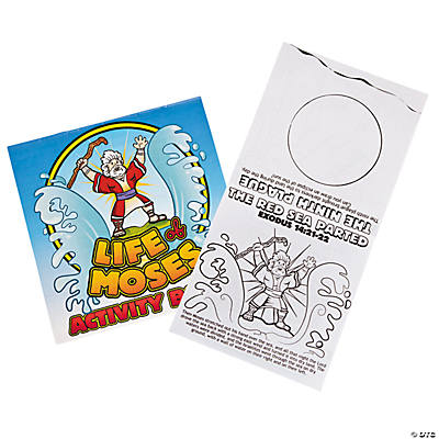 """Life of Moses"" Activity Books"