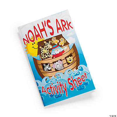 Noah's Ark Fold-Up Activity Sheets