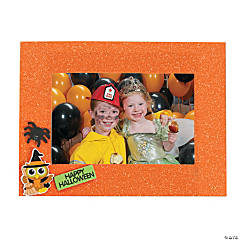 Halloween Glitter Picture Frames
