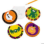 Glitter Halloween Notepad Assortment