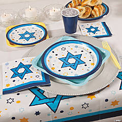 Stars Of Hanukkah Party Supplies