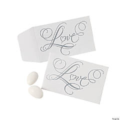 "Mini ""Love"" Wedding Envelopes"