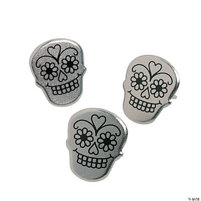 Day of the dead brads brads eyelets scrapbooking for Day of the dead craft supplies