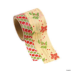 Christmas Washi Tape Rolls