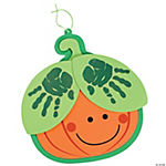Handprint Pumpkin Craft Kit