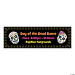 Personalized Small Day of the Dead Banner