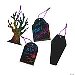Magic Color Scratch Graveyard Ornaments