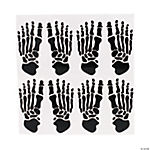 Skeleton Footprint Decals