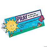 Color Your Own Prayer Reminder Stand-Ups
