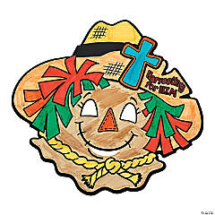 Color Your Own Inspirational Scarecrow Masks