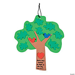 """God's Love"" Tree Sign Craft Kit"