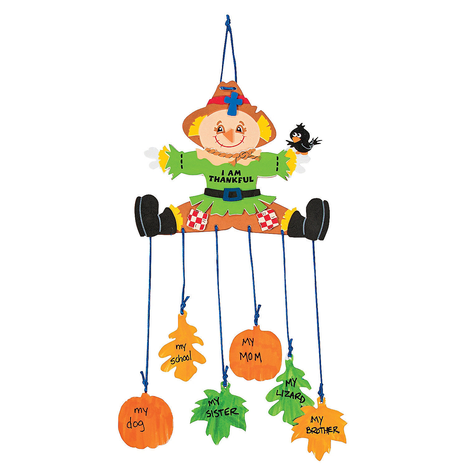 Harvest blessings mobile craft kit oriental trading for Harvest crafts for kids