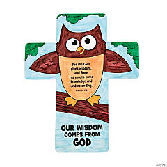 "Color Your Own ""Wisdom Comes From God"" Crosses"
