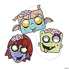 DIY Zombie Masks