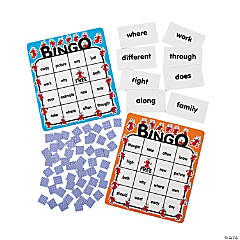 Sight Words Level 300 Ant Bingo Game