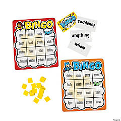 Differentiated Sight Word Bingo Level 500