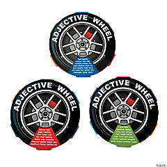 Adjective Learning Wheels
