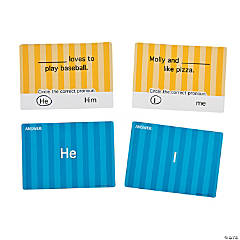 Pronoun Write & Wipe Cards
