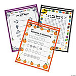 Halloween Top-Loading Dry Erase Sleeves