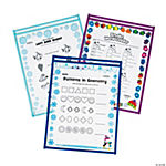 Winter Top-Loading Dry Erase Sleeves