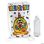 "Color Your Own ""Trick-Or-Treat"" Bags"
