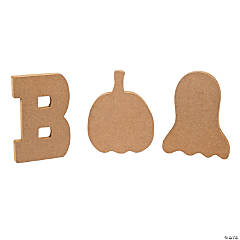 "DIY ""Boo"" Blocks"