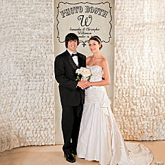Personalized Vintage Photo Booth Backdrop